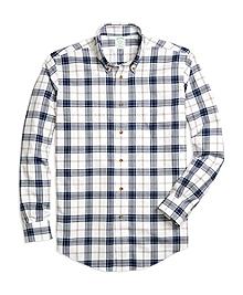 Non-Iron Milano Fit Blanket Plaid Sport Shirt
