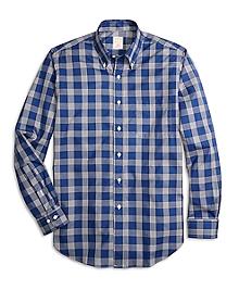 Golden Fleece® Madison Fit Windowpane Sport Shirt