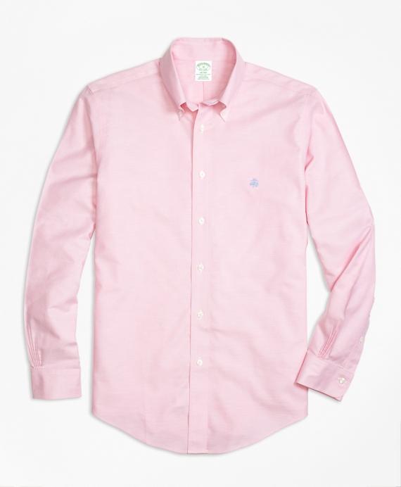 Non-Iron BrooksCool® Milano Fit Sport Shirt Rose