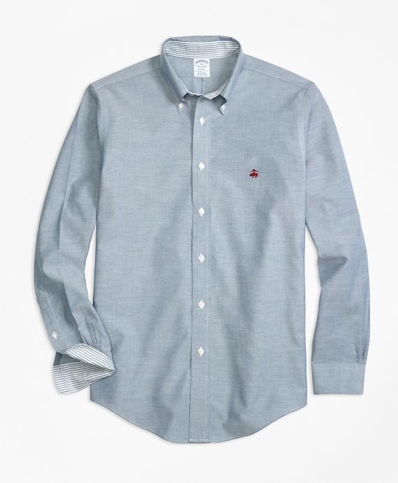 Non-Iron BrooksCool® Regent Fit Sport Shirt Blue