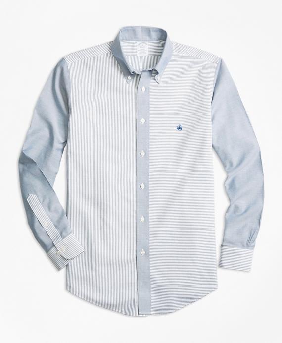 Non-Iron BrooksCool® Regent Fit Fun Sport Shirt Blue