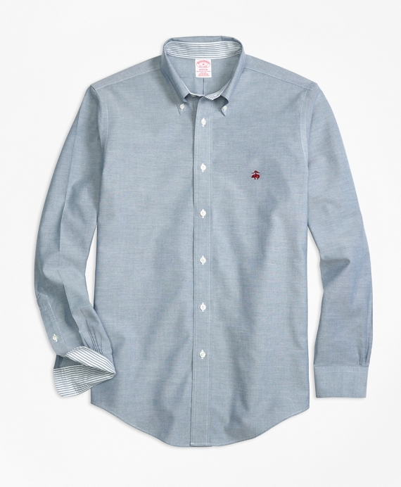 Non-Iron BrooksCool® Madison Fit Sport Shirt Blue