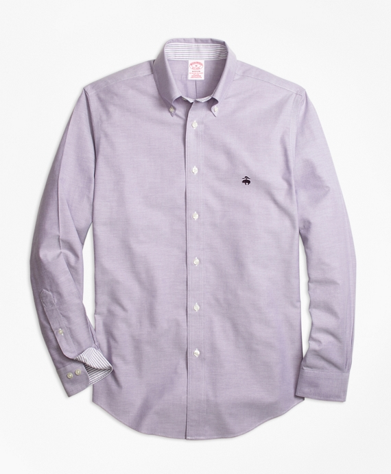 Non-Iron BrooksCool® Madison Fit Sport Shirt Purple