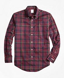 Non-Iron Regent Fit MacDonald Tartan Sport Shirt