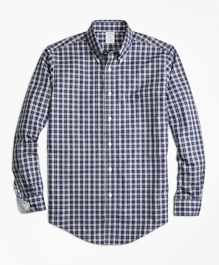 Non-Iron Regent Fit MacLeod Tartan Sport Shirt