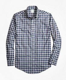 Non-Iron Milano Fit Multi-Check Sport Shirt