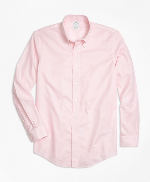 Non-Iron Milano Fit Oxford Sport Shirt Pink