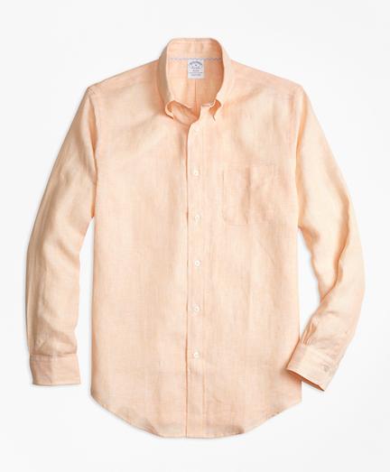 Regent Fit Irish Linen Sport Shirt