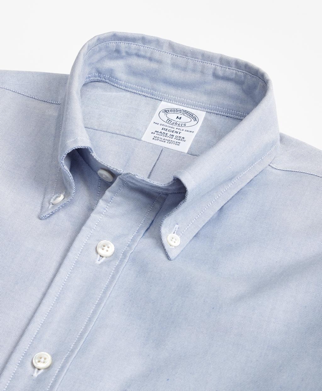 9d1e31e802385 Regent Fit Oxford Sport Shirt - Brooks Brothers