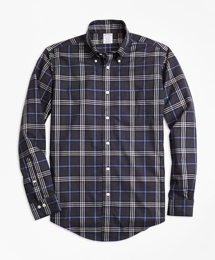 Non-Iron Regent Fit Brooks Brothers Signature Tartan Sport Shirt