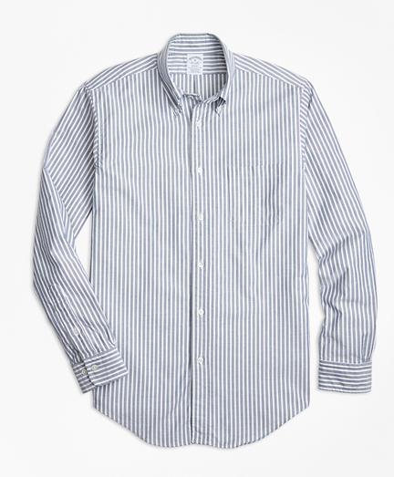 Regent Fit Oxford Stripe Sport Shirt