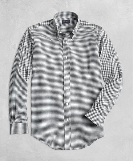 Golden Fleece® BrooksTech™ Regent Fit Yarn-Dyed Check Sport Shirt