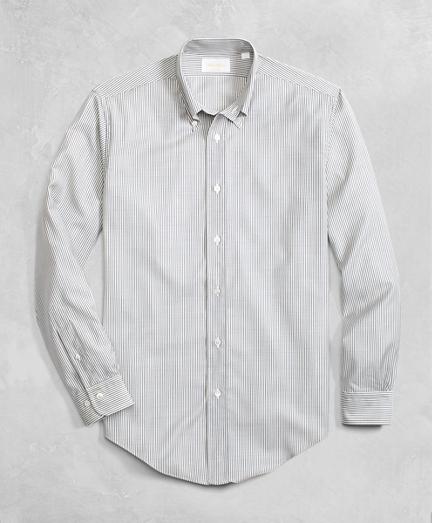 Golden Fleece® BrooksTech™ Lightweight Wool Stripe Sport Shirt