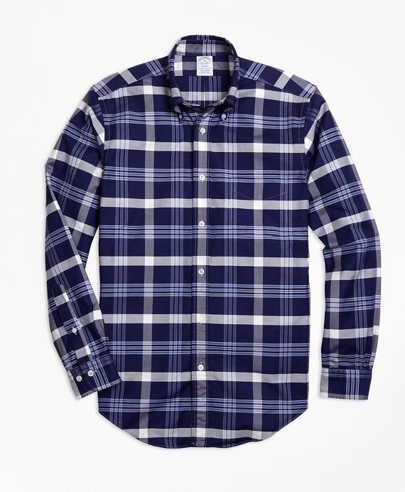 Regent Fit Oxford BB#10 Plaid Sport Shirt