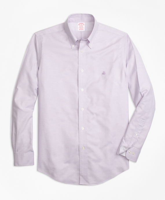 d6db6d6bcaf Non-Iron Madison Fit Supima® Cotton Oxford Sport Shirt - Brooks ...