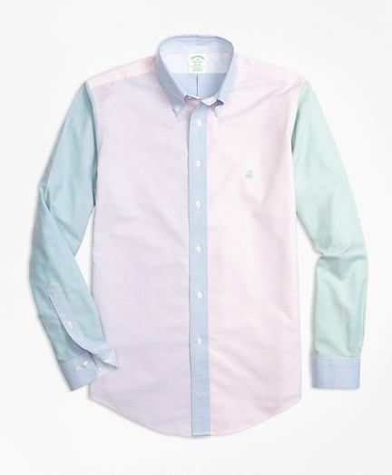 Non-Iron Milano Fit Supima® Cotton Oxford Fun Sport Shirt