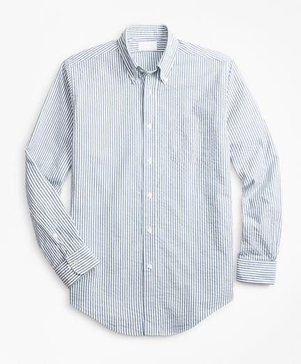 Golden Fleece® Regent Fit Seersucker Sport Shirt