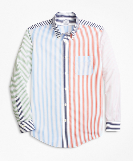 Non-Iron Regent Fit Fun Stripe Sport Shirt