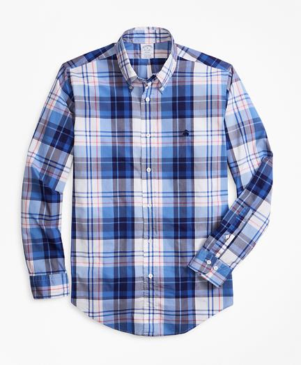 Regent Fit Bold Plaid Zephyr Sport Shirt