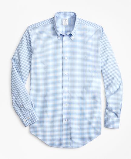 Regent Fit Gingham Zephyr Sport Shirt