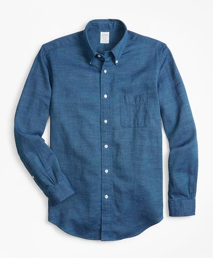 Regent Fit Royal Oxford Indigo Sport Shirt