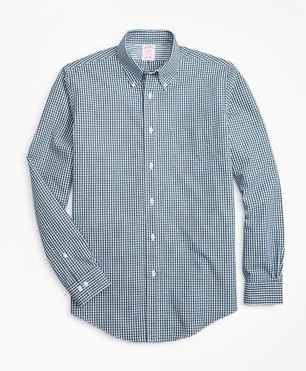 Non-Iron Madison Fit Gingham Sport Shirt