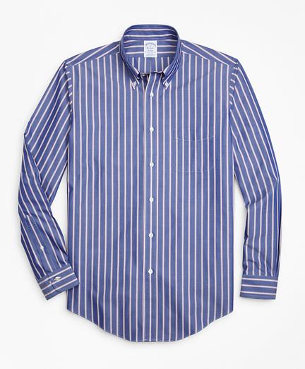 Non-Iron Regent Fit Ribbon Stripe Sport Shirt