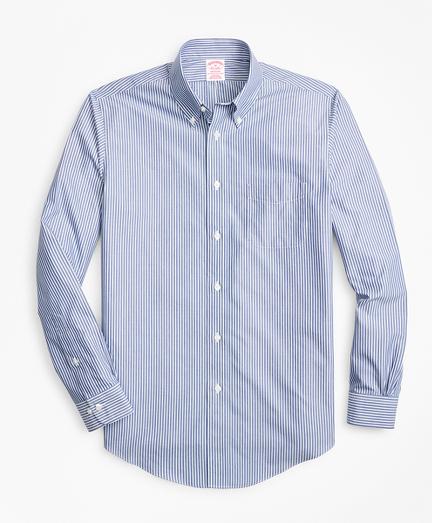 Non-Iron Madison Fit Triple-Stripe Sport Shirt