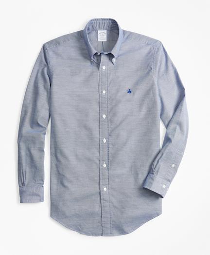 Regent Fit End-on-End Brushed Oxford Sport Shirt