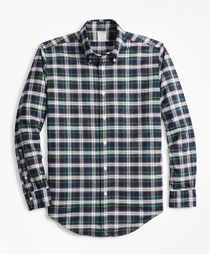 Regent Fit Oxford Tartan Sport Shirt