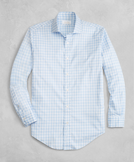 Golden Fleece® Regent Fit Gingham Flannel Sport Shirt