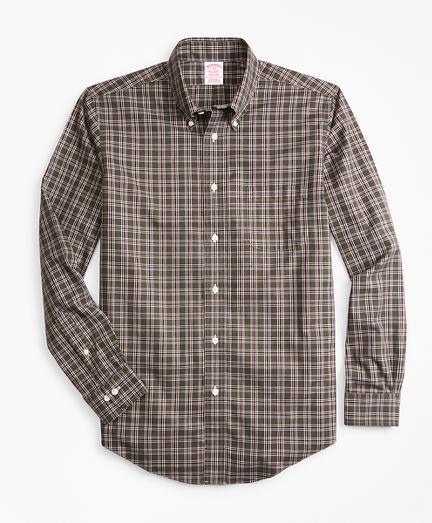 Non-Iron Madison Fit Check Sport Shirt
