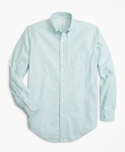 Regent Fit Oxford Narrow Stripe Sport Shirt