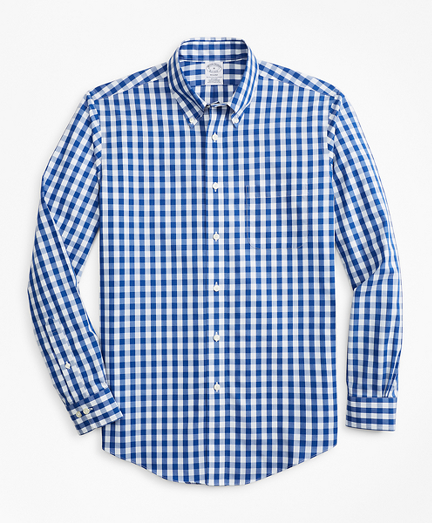 Non-Iron Regent Fit Bold Gingham Sport Shirt