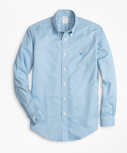 Non-Iron Regent Fit Micro-Check Sport Shirt