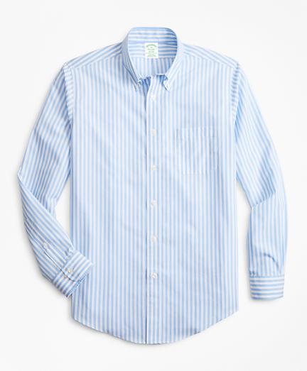 Non-Iron Milano Fit Stripe Sport Shirt