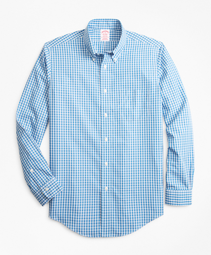 Non-Iron Madison Fit Double-Check Sport Shirt