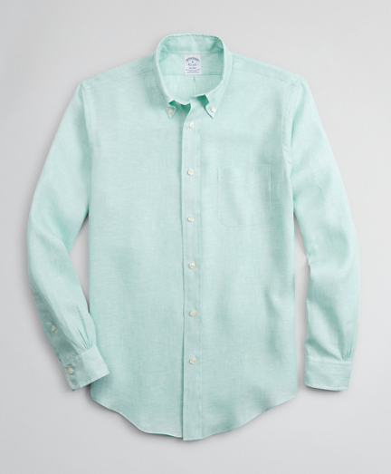 Regent Regular-Fit Sport Shirt, Irish Linen