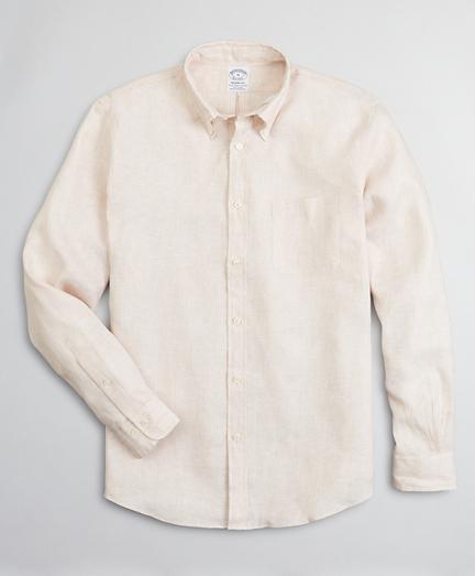 Regent Regular-Fit Sport Shirt, Irish Linen