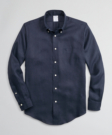 Regent Fitted Sport Shirt, Irish Linen