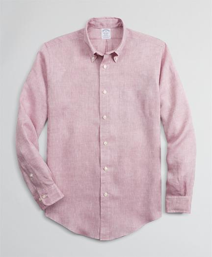 Regent Fitted Sport Shirt, Irish Linen
