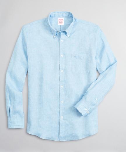 Madison Classic-Fit Sport Shirt, Irish Linen