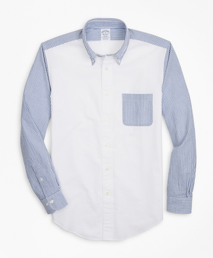Regent Regular-Fit Sport Shirt, Seersucker Fun