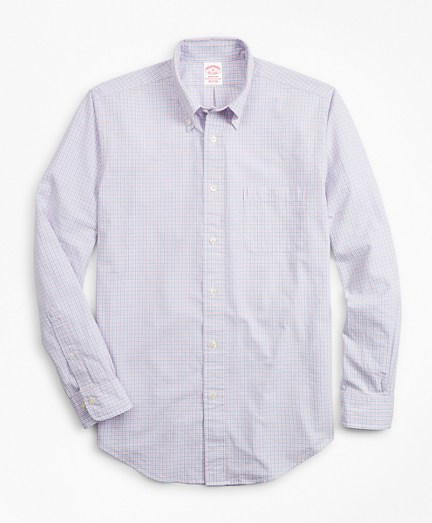 Madison Fit Gingham Seersucker Sport Shirt