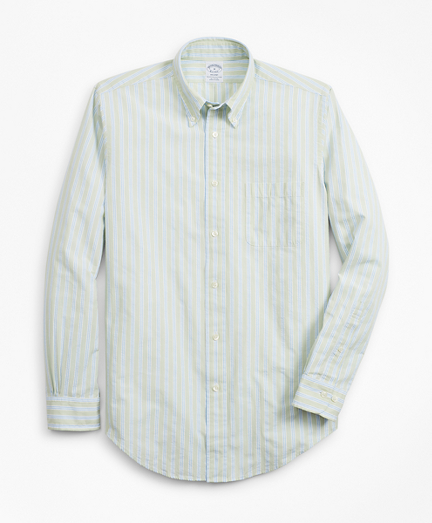 Regent Fit BB#1 Stripe Seersucker Sport Shirt