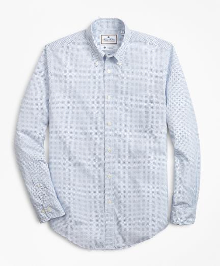 Luxury Collection Regent Regular-Fit Sport Shirt, Button-Down Collar Geo Print