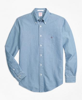 Madison Fit Indigo Dyed Sport Shirt