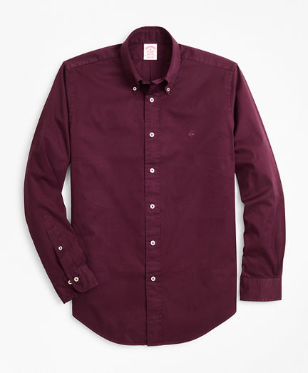 Madison Fit Garment-Dyed Twill Sport Shirt