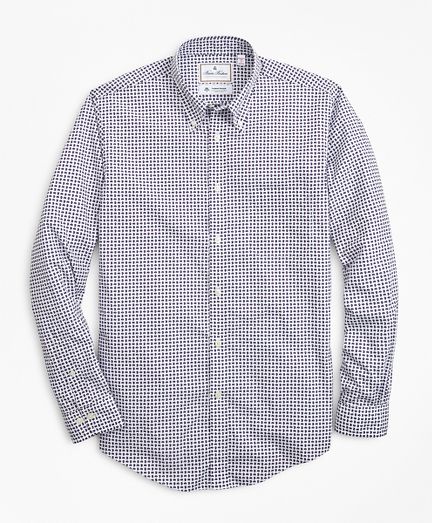 Luxury Collection Madison Classic-Fit Sport Shirt, Button-Down Collar Paisley Print