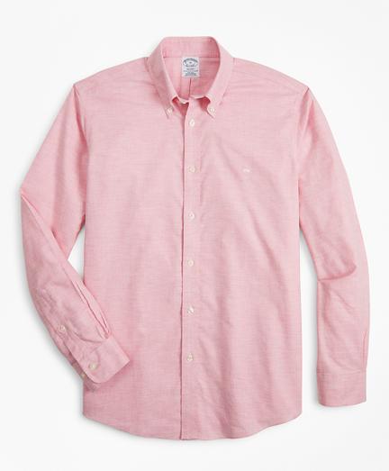 Non-Iron Regent Fit Heathered Sport Shirt